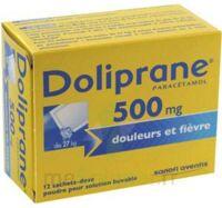Doliprane 500 Mg Poudre Pour Solution Buvable En Sachet-dose B/12 à Bordeaux