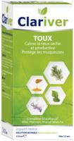 Clariver Solution Buvable Toux Sèche Et Productive Adulte Fl/175ml à Bordeaux