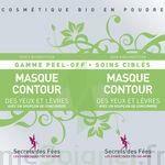 Secrets Des Fées Masque Contour Des Yeux Et Lèvres Peel-off à Bordeaux