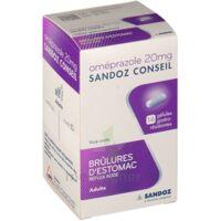 Omeprazole Sandoz Conseil 20 Mg Gél Gastro-rés Plq/14 à Bordeaux