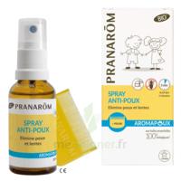 Pranarôm Aromapoux Bio Spray Anti-poux 30ml+peigne à Bordeaux