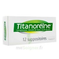 Titanoreine Suppositoires B/12 à Bordeaux