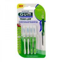 Gum Trav - Ler, 1,1 Mm, Manche Vert , Blister 4 à Bordeaux