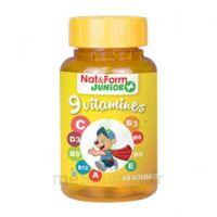 Nat&form Junior Ours Gomme Oursons 9 Vitamines B/60 à Bordeaux