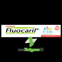 Fluocaril Kids Dentifrice Fraise 0-6 Ans T/50ml à Bordeaux